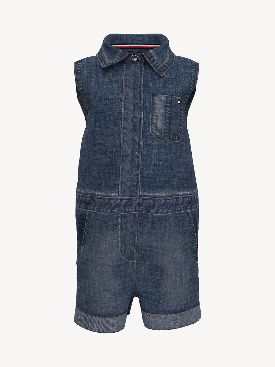 Macacão Jeans Tommy