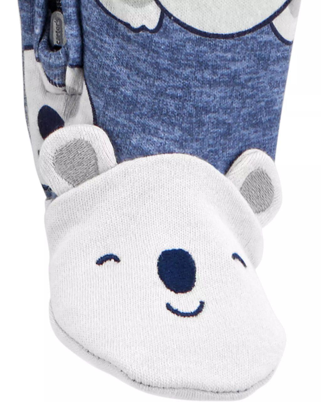 Pijama / Macacão Sleep & Play Koala Boy Carter's