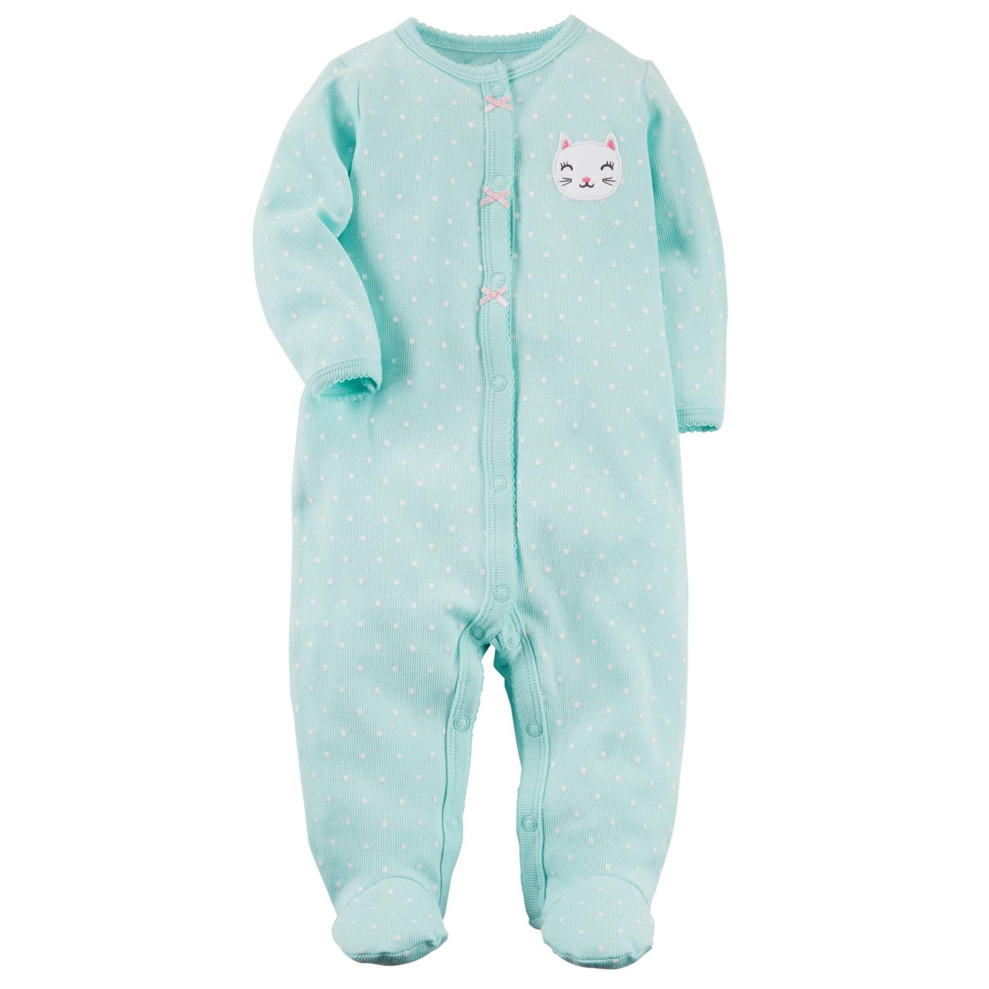 Pijama Snap-Up Gatinha Carter's
