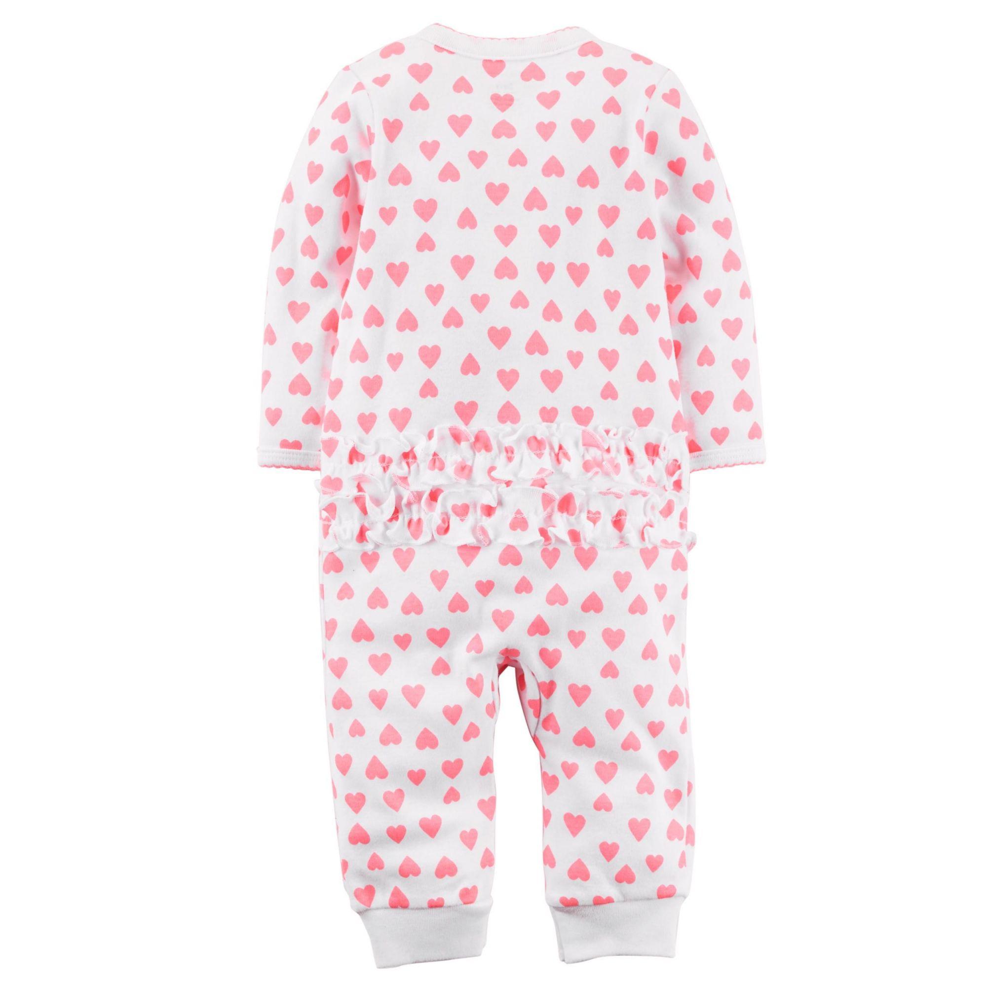 Pijama Snap-Up Corações Carter's