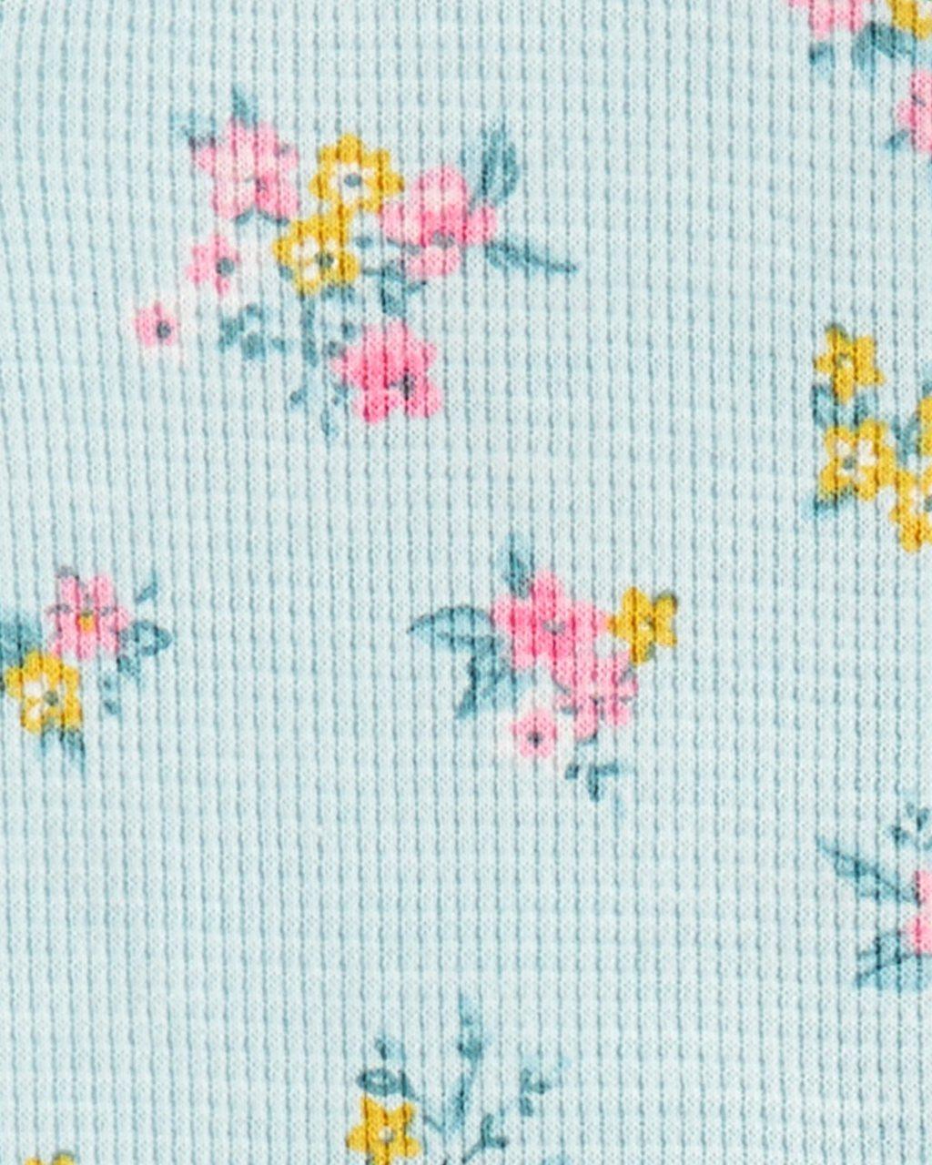 Pijama Azul Floral Carters