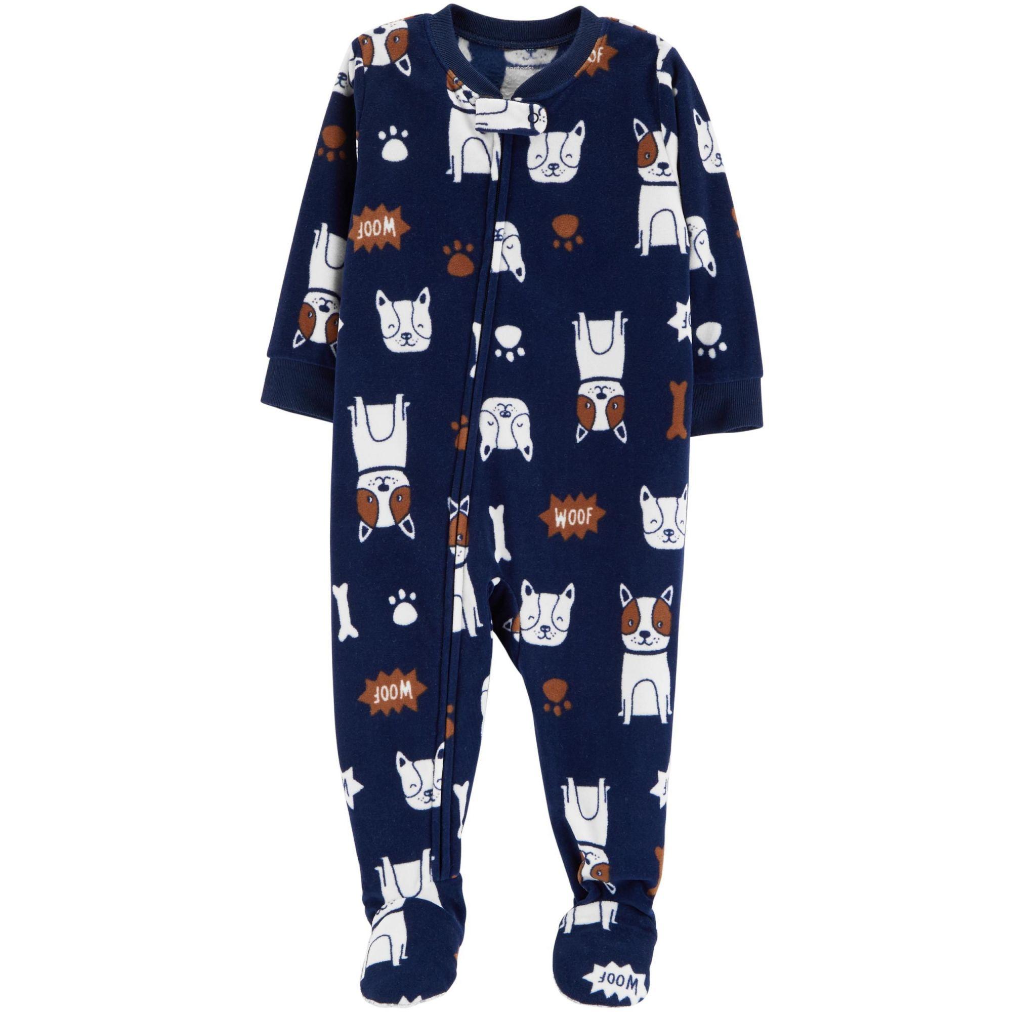 Pijama Carters Cachorros Fleece