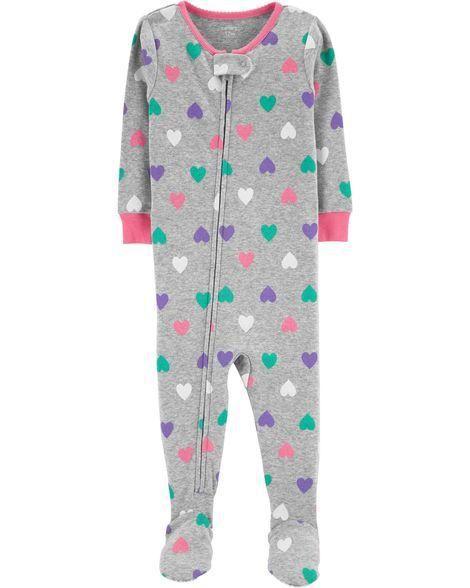 Pijama Carters Corações