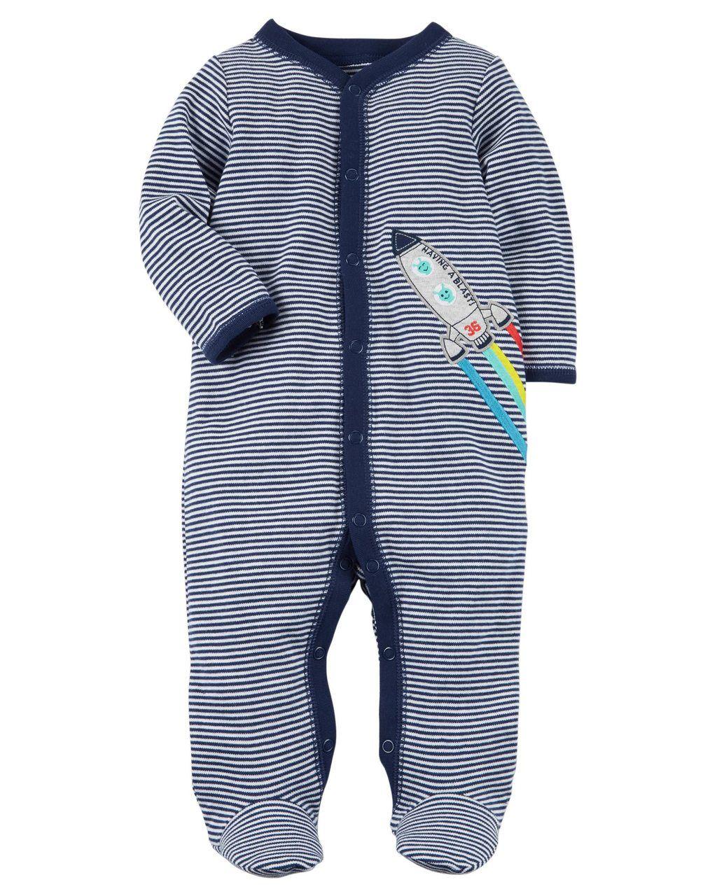 Pijama / Macacão Carters Foguete