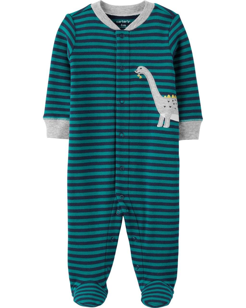 Pijama Dino Listrado Carter's