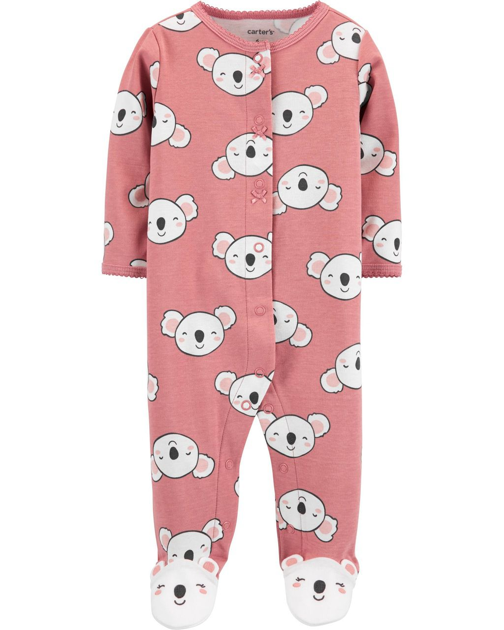 Pijama /Macacão Sleep & Play Koala Girl Carter's
