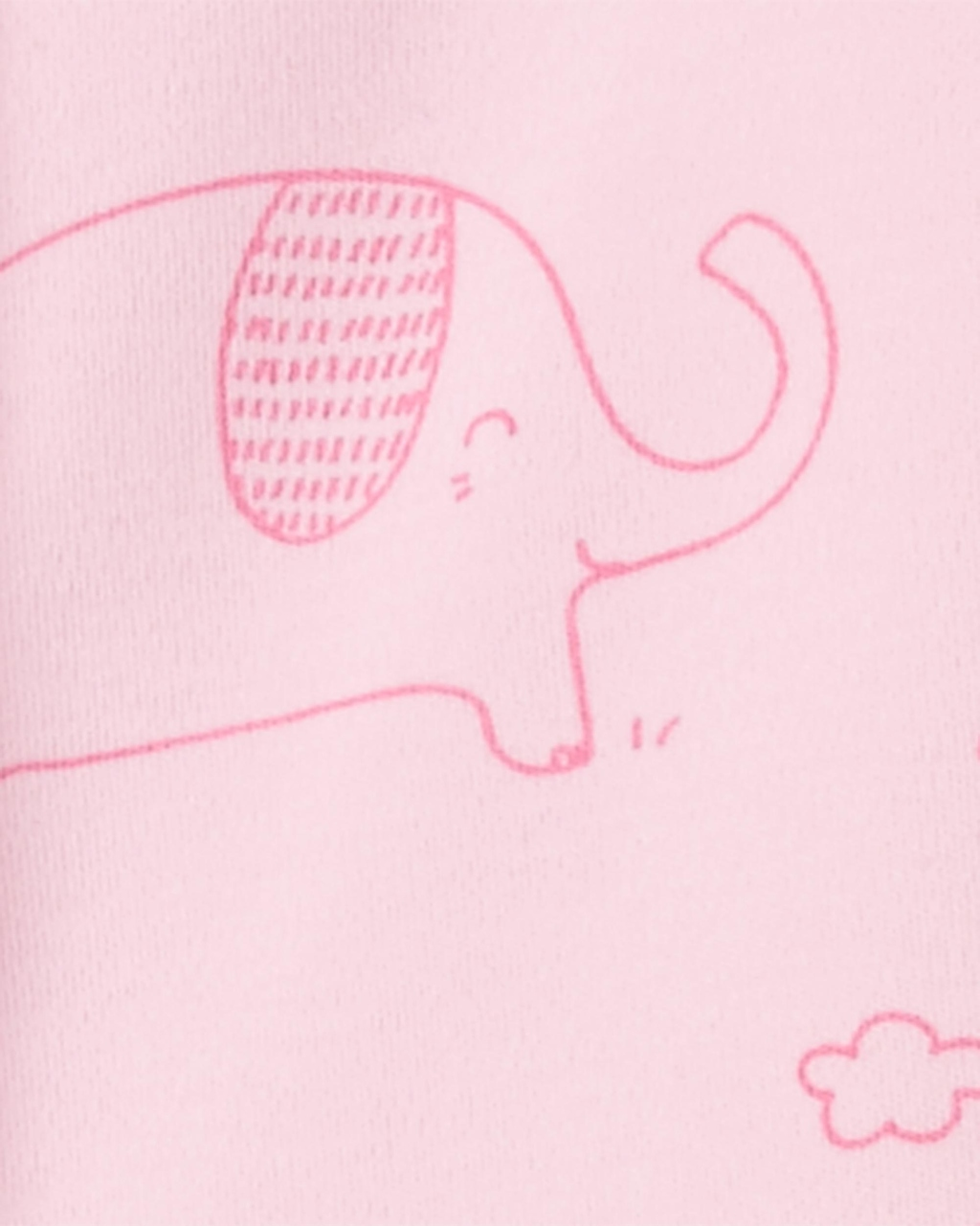 Pijama Rosa Elefantinhos