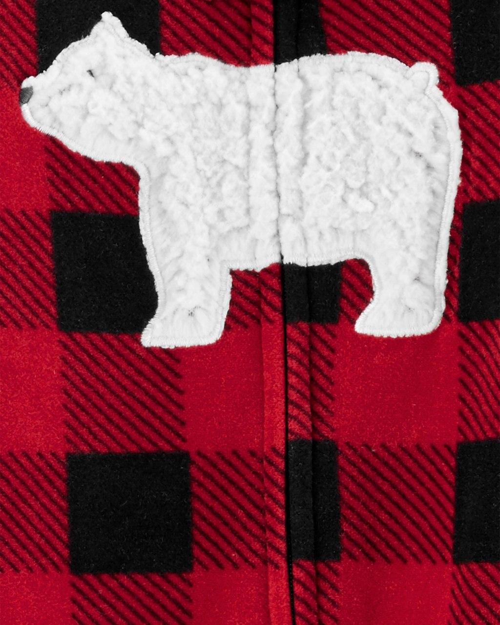 Pijama Sleep and Play Buffalo Urso Fleece
