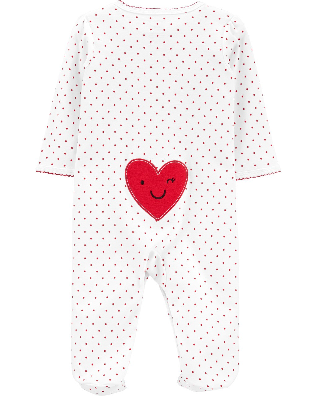 Pijama Sleep and play Coração