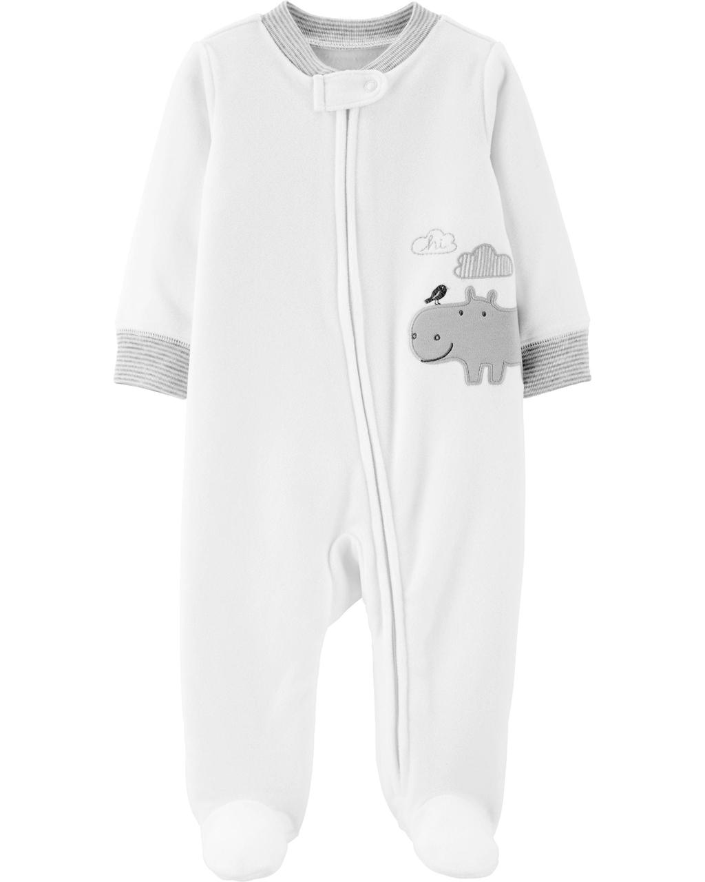 Pijama Sleep and Play Hipo Fleece