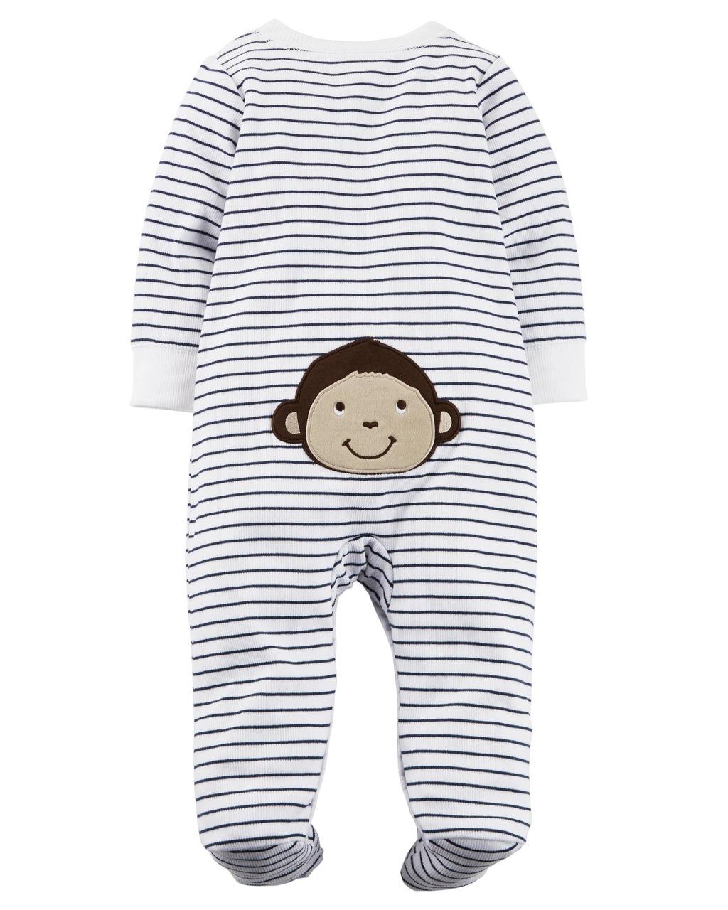 Pijama Snap-Up Macaquinho
