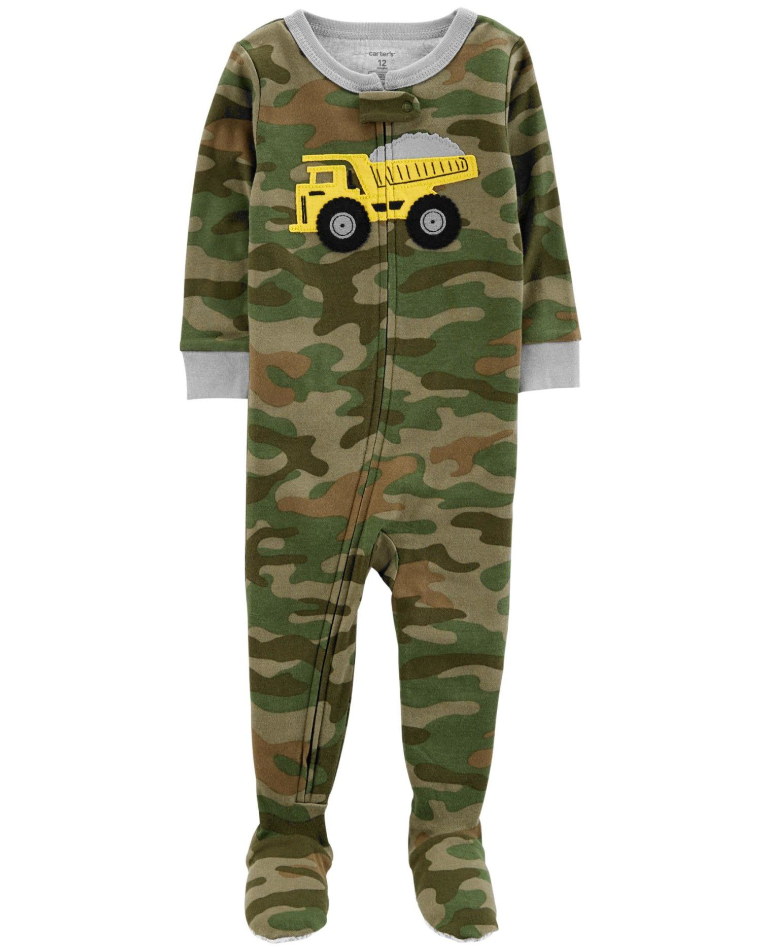Pijama Snug Fit Camuflado Carters