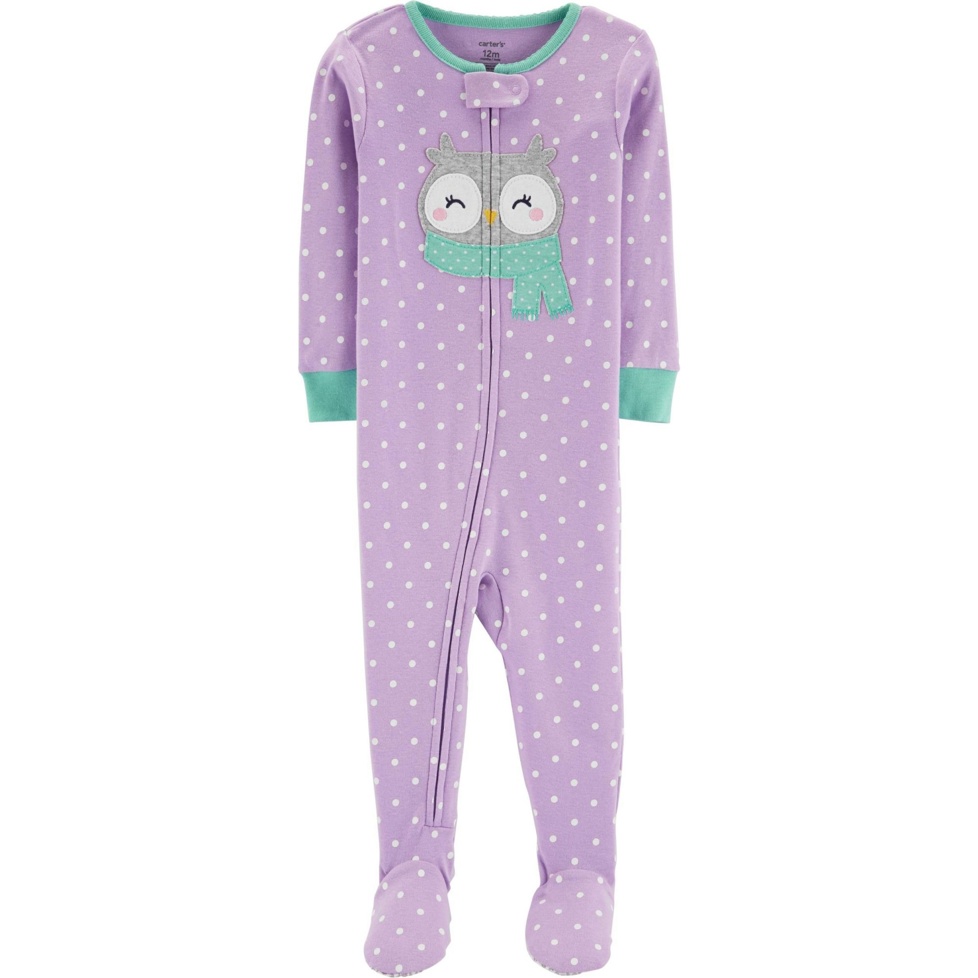 Pijama Snug Fit Coruja Carters
