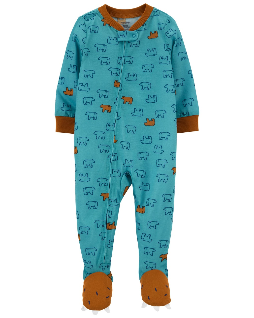Pijama Urso Poliéster Carter`s