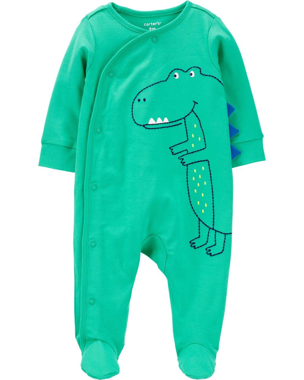 Pijama Verde Dino Carters