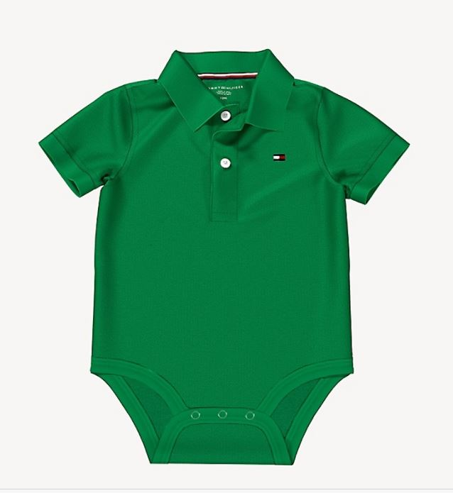 Polo Verde Tommy Hilfiger