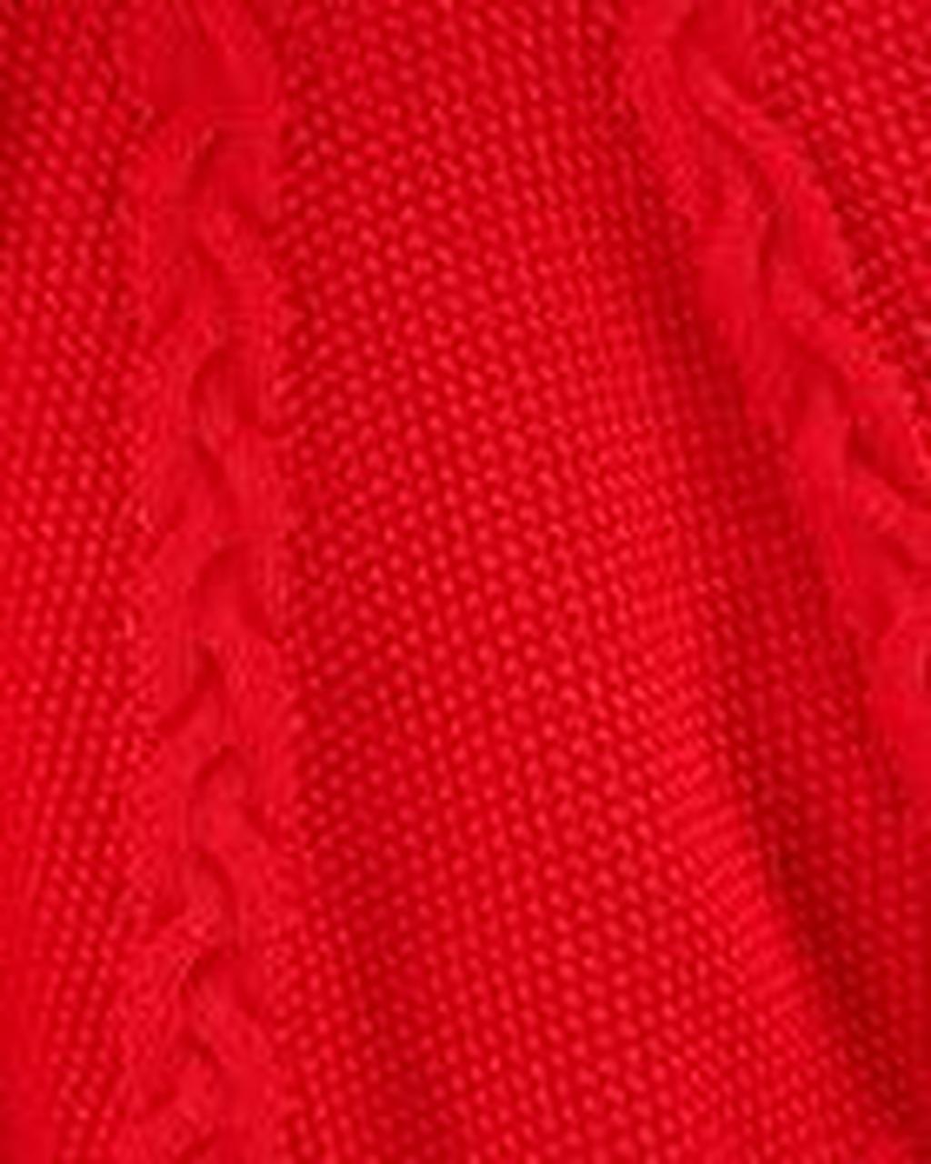 Poncho em tricot Carter's