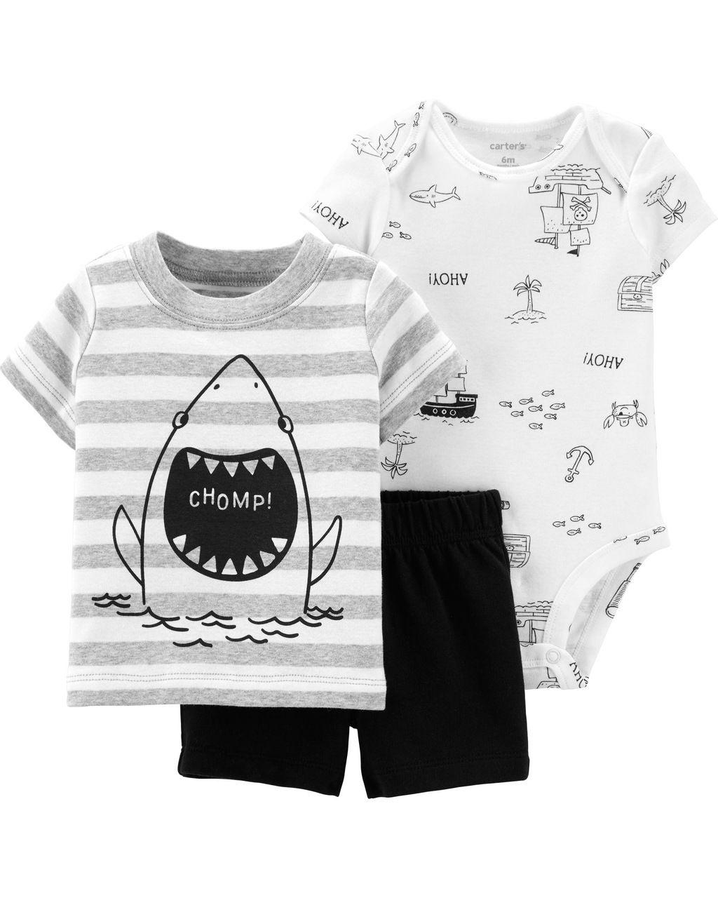 Trio Tubarão Carters