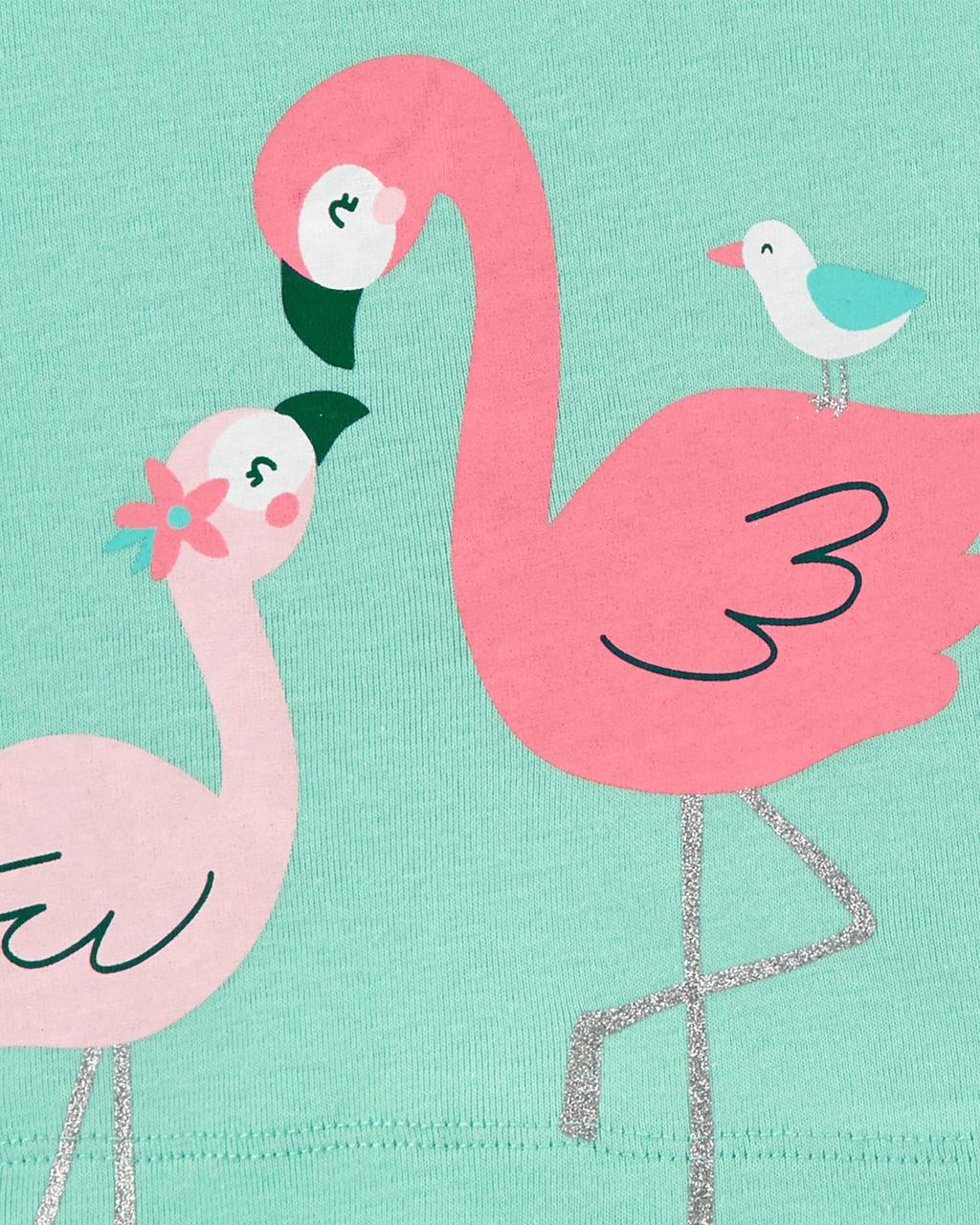 Trio Xadrez Flamingo Carter's