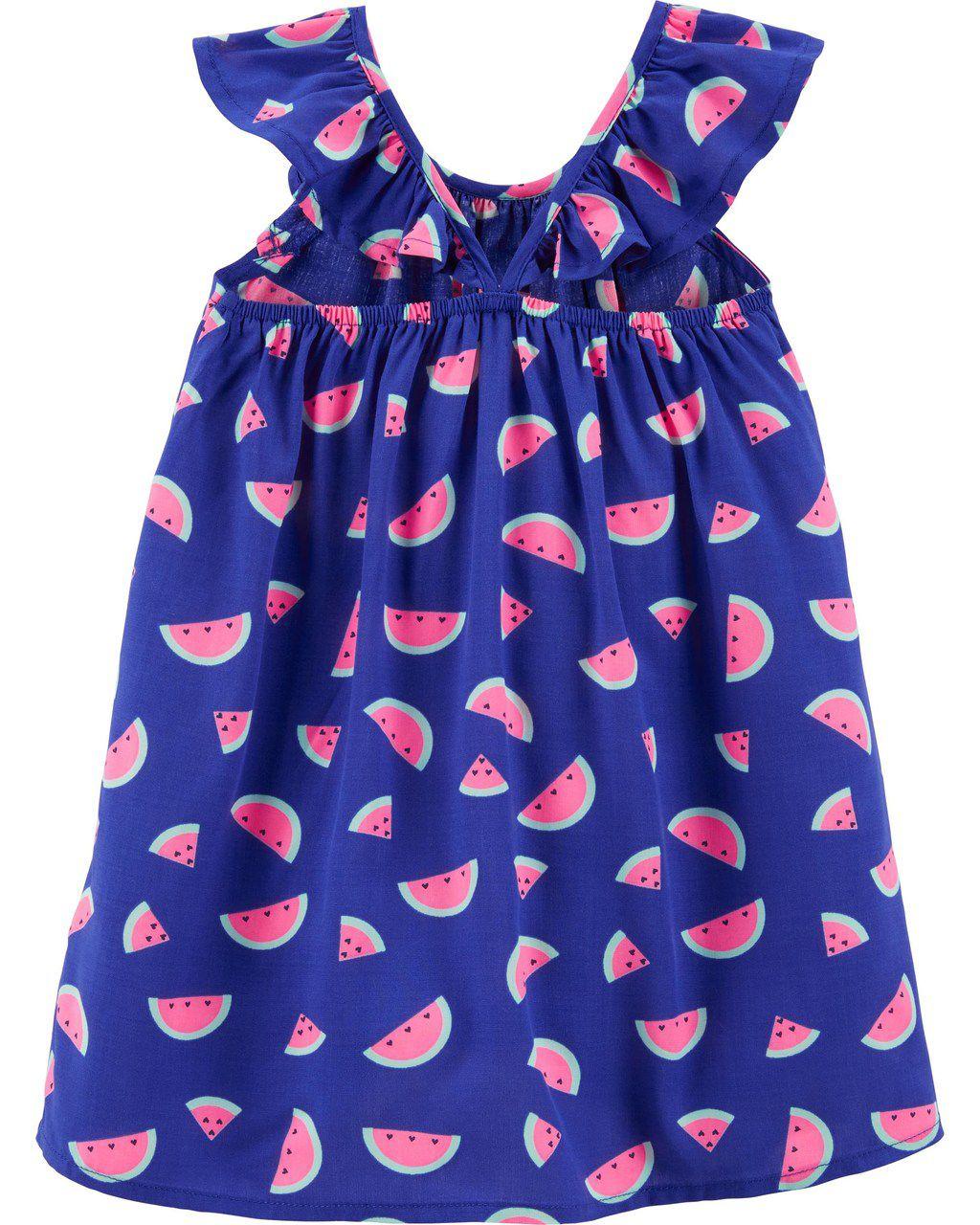Vestido Azul Melancias Oshkosh