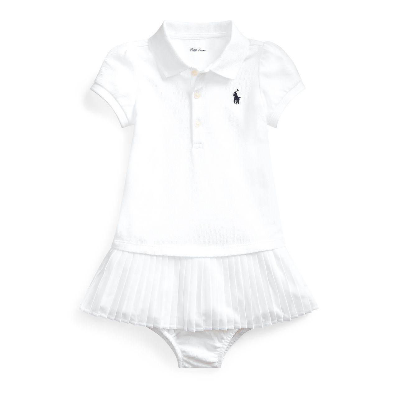 Vestido Branco Ralph Lauren