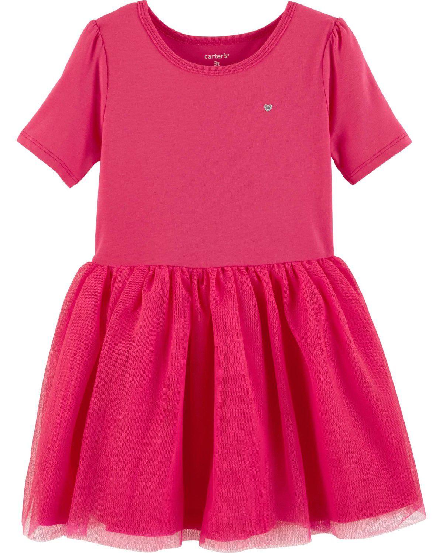 Vestido Carter's Pink Tutu