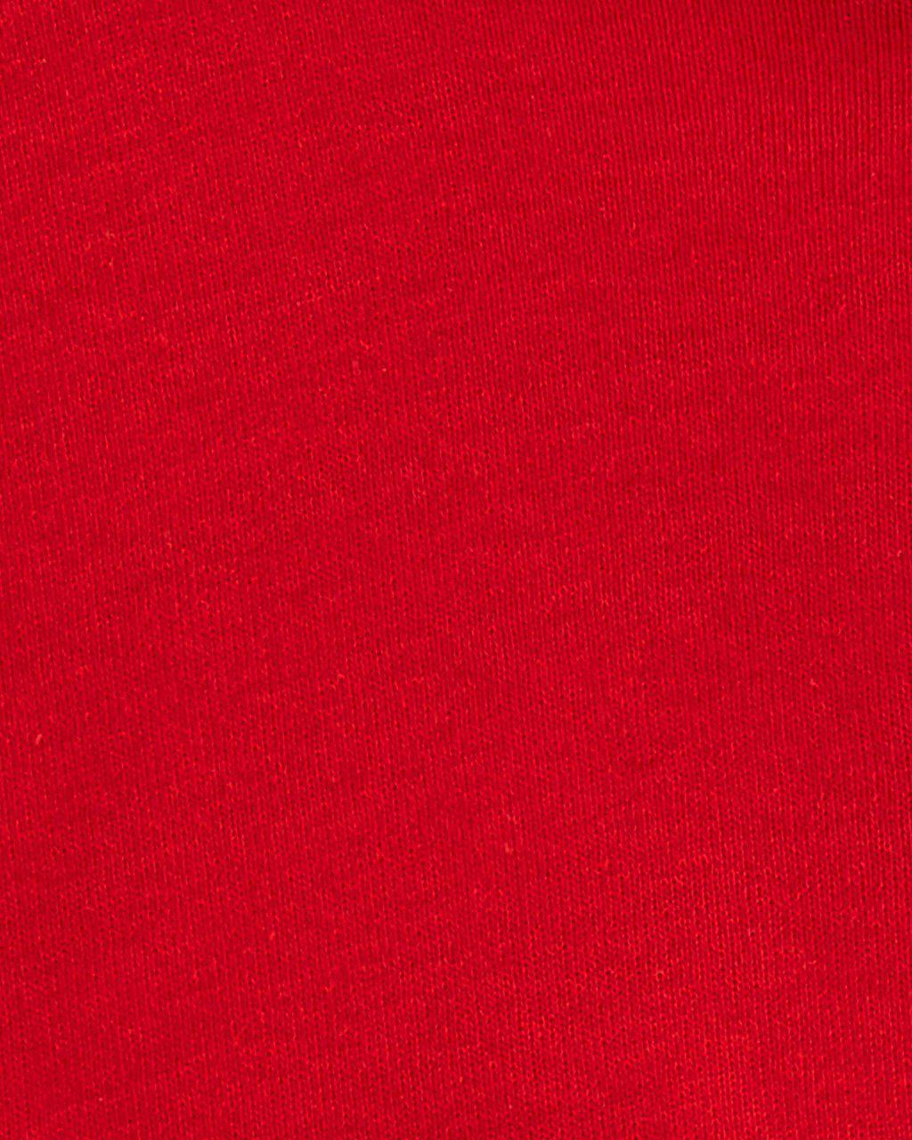 Vestido Corações com Cardigan Vermelho