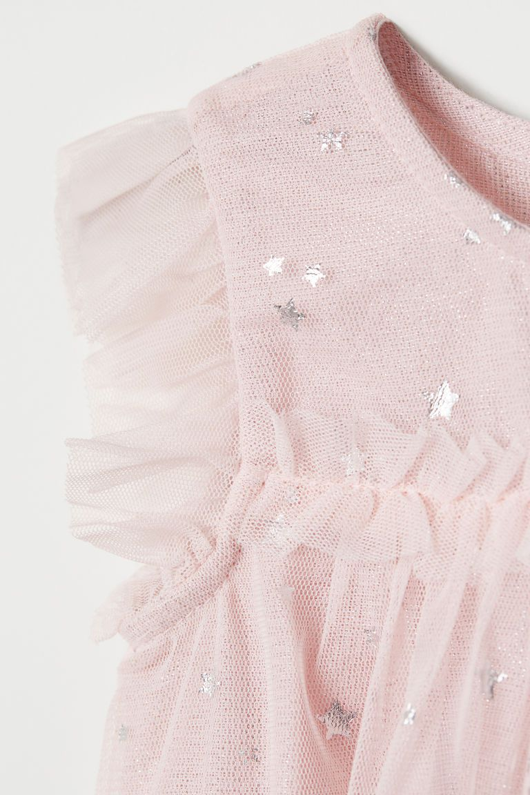 Vestido em Tulle H&M