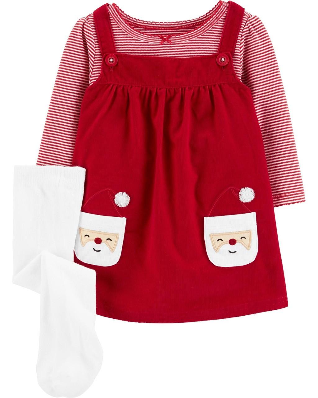 Vestido NATAL Papai Noel