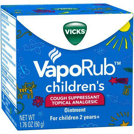 Vick's VapoRub Children's - para crianças acima de 2 anos