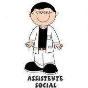 Decalque para Porcelana - Assistente Social (o)