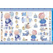 Bebê Azul - 019