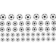 Decalque para Porcelana - Bolas de Futebol