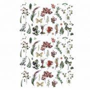 Decalque para Porcelana - Botanic