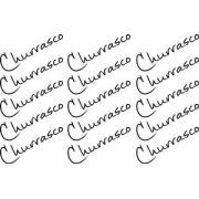 Decalque para Porcelana -Churrasco