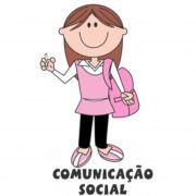 Decalque para Porcelana - Comunicação Social(a)