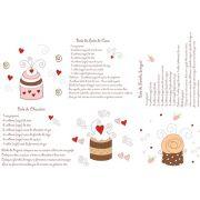 Decalque para Porcelana - Cup Cake 2