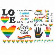 Decalque para Porcelana - LGBT