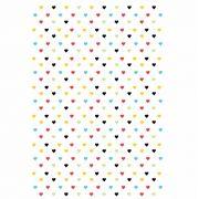 Decalque para Porcelana - Tapete Corações Coloridos