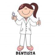 Decalque para Porcelana - Dentista(a)