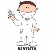 Decalque para Porcelana - Dentista(o)