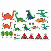 Decalque para Porcelana - Dinossauros