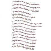 Decalque para Porcelana - Frases e Pensamentos