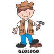 Decalque para Porcelana - Geólogo