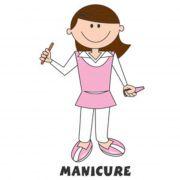 Decalque para Porcelana - Manicure