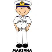 Decalque para Porcelana - Marinha(o)