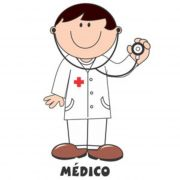 Decalque para Porcelana - Médico