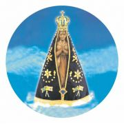 Decalque para Porcelana - Nossa Senhora Aparecida 19cm