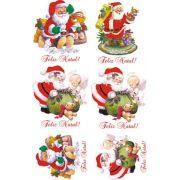 Decalque para Porcelana - Papai Noel 11 e 9cm