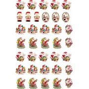 Papei Noel e Fofinhos 3,5cm